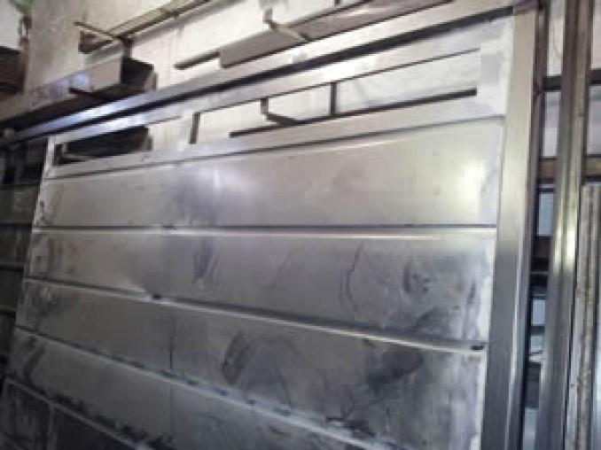 Portones batientes archives for Portones para garage