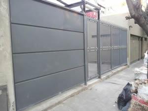 Portones para garage electricos for Portones de hierro para garage