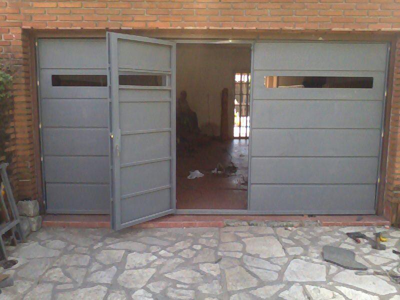Modelos de puertas for Puertas metalicas