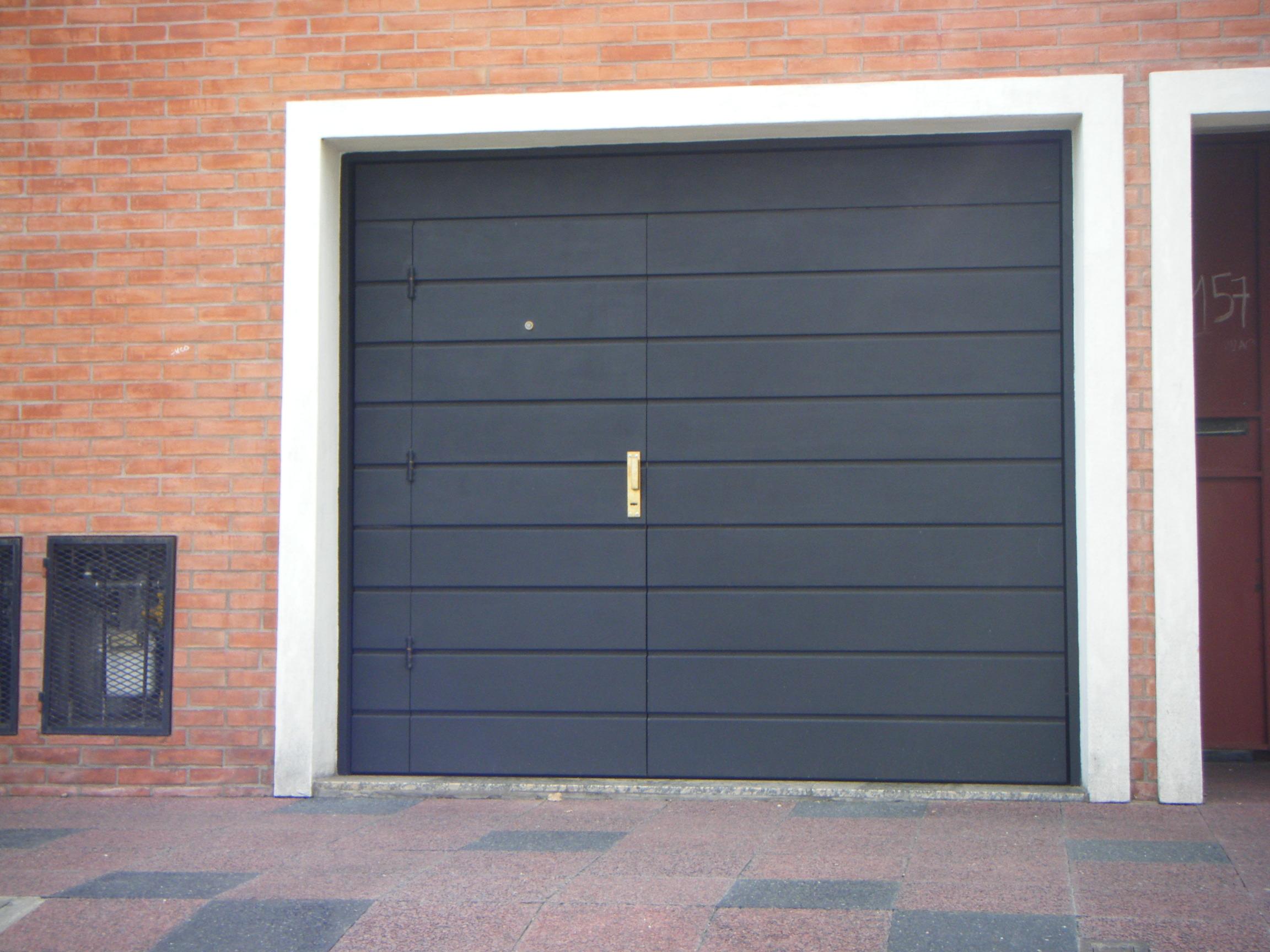 Puertas metalicas medidas for Puertas metalicas